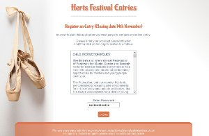 Herts Festival Entries